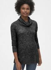 BRAND NEW Gap True Softspun Cowl-neck Top Jumper Size S (10-12) Black