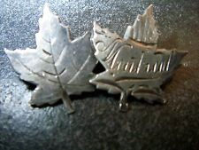 seltene Brosche Souvenir Kanada Montreal Silber 1920-30