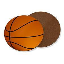 Basketball Ball Coaster Drinks Mat - Funny Sport