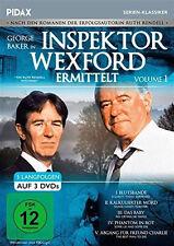 """3 DVDs * INSPEKTOR WEXFORD ERMITTELT  VOL. 1 # NEU OVP """""""
