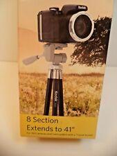 NEW  Kodak TR410 EXTERNDS TO 41-Inch Tripod TRAVEL PORTABLE UNIVERSA CAMERAS