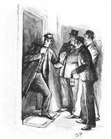 Sherlock Holmes by Sidney Paget 1891  7x5 Inch Reprint