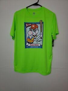 Athletic Works Boys Shirt Size XXL 18 Green Baseball Sports School Clothes