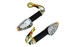 Black Long Stem E-marked LED Indicators for Honda CBR 600 F3 F4i 929 954 1000 RR