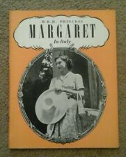 H.R.H Princess Margaret In Italy 1949 Booklet. Pitkin. Vatican,Sorrento,Capri