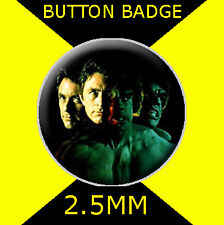 THE INCREDIBLE HULK CHANGE - CULT  - Button Badge