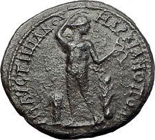 CARACALLA 205AD Marcianopolis NUDE APOLLO Authentic Ancient Roman Coin i58096