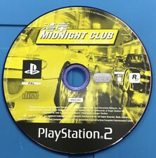 Midnight Club Street Racing PlayStation 2 PS2 Game Disc Only Resurfaced PAL