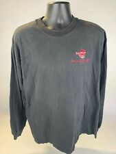 Hanes Men's Black Faded Long Sleeves Xl