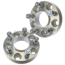 2x 25mm Hubcentric Wheel Spacers Fits  Ford Mustang Ranger Explorer Sport Trac