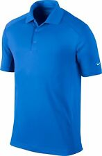 Nike Men's Size Large Dri-Fit Victory Golf Polo Shirt 818050 480 Blue NWT