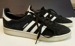 grupo Paralizar expandir  Adidas Campus Suede Athletic Shoes Black adidas for Men for Sale |  Authenticity Guaranteed | eBay