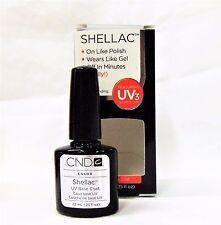 CND Creative Nail SHELLAC Soak Off Gel Polish Choose Your Color .25oz/7.3mL