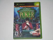 World Championship Poker (Microsoft Xbox, 2004) **COMPLETE**