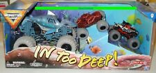 In Too Deep MONSTER JAM Trucks Megalodon Pirates Curse Octonber Octopus TARGET
