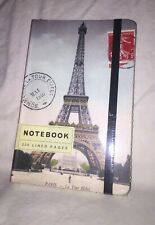2010 Cavallini Paper & Co. Pocket Journal PARIS Blank 256 Lined Pages