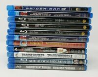 11 Blu-ray Movie Lot - Spider-Man, Harry Potter, Transformers, Anchorman, etc.