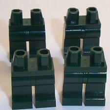 Lego Dark Green Legs x 4 for Miinifigure