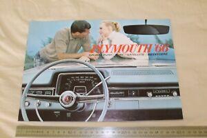 (MB2/F) Brochure 1966 PLYMOUTH '66 Sports Fury Satellite Belvedere / En français