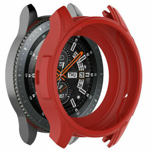 For Samsung Galaxy Watch 46mm / Gear S3 Frontier Silicone Protective Case Cover