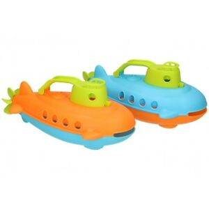 Kids Bath Boat Submarine Bathtime Floating Mouth Handle Scooping Water Action