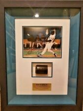 KEN GRIFFEY JR - UDA Game-Used BAT framed with Autographed 8x10 (5 of 10) RARE!