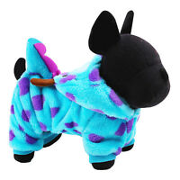 Cute Pet Dog Puppy Winter Warm Cartoon Hoodie Costume Clothes Jumpsuit Apparel