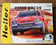 maquette heller Xsara WRC'05 citroën 1/43e ref 71231