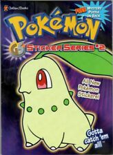 Pokemon Gotta catch'em all Sticker Series 2 Coloring Activity Golden Books New