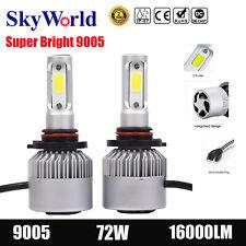 9005 HB3 72W 16000LM CREE LED Headlight Kit High Low Light Car Fog Bulbs VS 9006