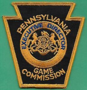 Pa Pennsylvania Game Commission Uncut Edge RARE Executive Director Uniform Patch