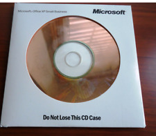Microsoft MS Office XP Small Business Edition SBE Disc with Product Key