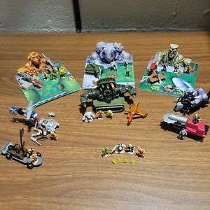 Huge Complete Small Soldiers Head Quarters Lot With Rare Nick Nitro Set.