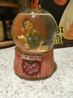 I Love Lucy Musical Snow globe: Vitameatavegamin