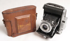 Konica Pearl Vintage 6x4.5cm Folding Rangefinder Camera - Nice/Some TLC