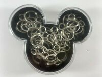 30 Mickey Mouse Silver Paper Clips with Case