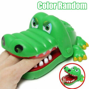 Crocodile Shark Mouth Dentist Bite Finger Game Playing Adults Kids Funny Toys
