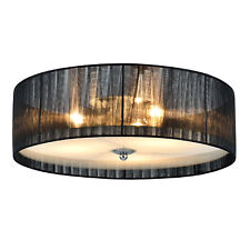 [lux.pro] Deckenleuchte E27 [12 cm x Ø40 cm] Deckenlampe Lüster Zimmerlampe