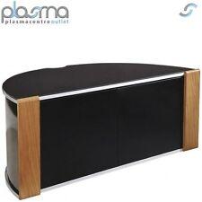 Sirius 850 Oak and Black Corner TV Cabinet