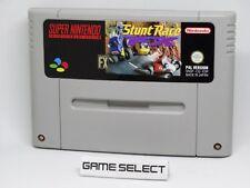STUNT RACE FX SUPER NINTENDO SNES NES 16 BIT PAL ESP CARTUCCIA ORIGINALE LOOSE