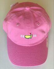 2021 Masters golf hat pink ladies fit american needle pga new womens