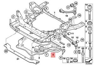 For BMW Genuine Suspension Control Arm Front Right Lower Forward 31126773950