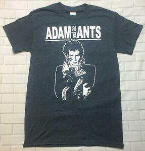 Adam and the Ants  'Dark Heather Grey' T-Shirt