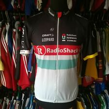 TEAM RADIOSHACK 2012 TOURING CYCLING SHIRT CRAFT JERSEY SIZE ADULT L