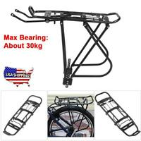 Aluminum Alloy Bicycle MTB Bike Rear Rack Seat Luggage Pannier Carrier Bracket