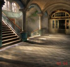 10X10FT Retro hallway Vinyl Backdrop Photography Photo Studio Background GA04