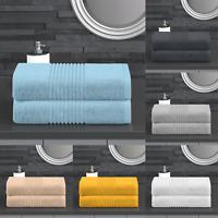 LUXURY ZERO TWIST 600GSM BATH SHEET BATHROOM TOWELS LARGE BATH SHEETS
