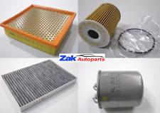 Chrysler 300c |05-11| 3.0 Crd Air Oil Fuel Cabin Pollen Filter Service Kit NEW