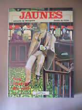 JAUNES de BUCQUOY & Disegni di TITO ed. Glenat 1980 in Francese [G123]