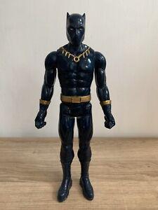"Marvel Avengers Titan Hero series 12"" Black Panther Action figure In VGC"
